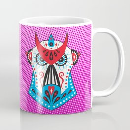 Sugar Skullatron - Pink Coffee Mug
