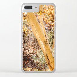 Trees in Arizona Clear iPhone Case