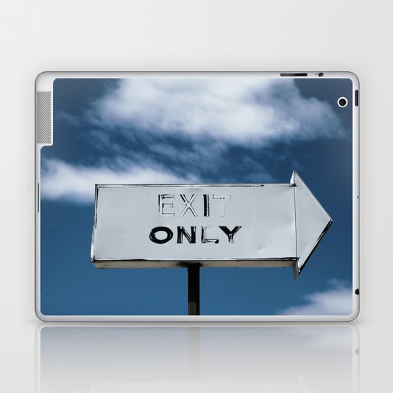 Exit Only Laptop & iPad Skin