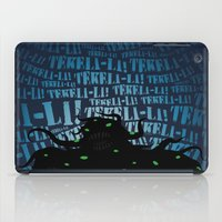 lovecraft iPad Cases featuring Lovecraft Shoggoth 2 by Steve Santiago