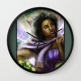 Mother Guardian Wall Clock