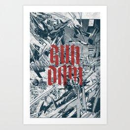 Gundam Art Print