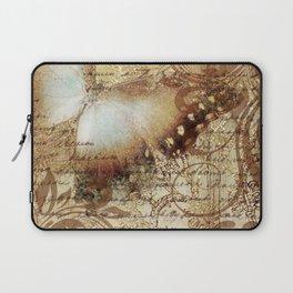 LE PAPILLON | tan Laptop Sleeve