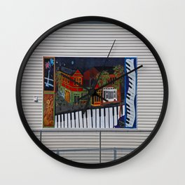 About the Arts Wall Clock