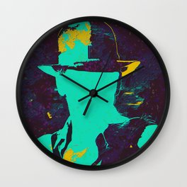 Teal Jones Wall Clock