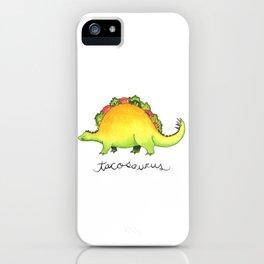Tacosaurus iPhone Case