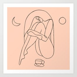 Expresso Dreams Art Print