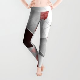 BLOOD STAINED GLASS WINDOW Leggings