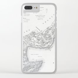 Monaco 1898 Clear iPhone Case