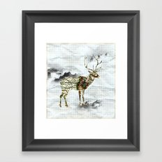 I lost my home. Framed Art Print