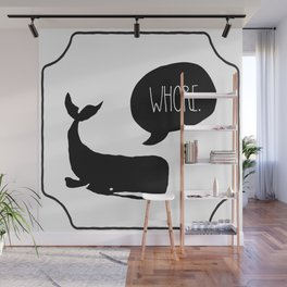 Insult Animals - Whore Whale Wall Mural