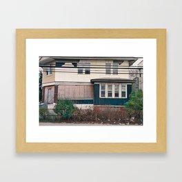 Rockaway Home Framed Art Print