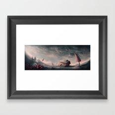 Lost Rabbit Framed Art Print