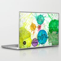 et Laptop & iPad Skins featuring Et Cetera by Art by Kaitlyn Alyse