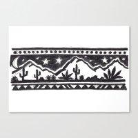 desert Canvas Prints featuring Desert by Abundance