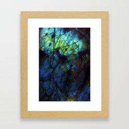 Labradorite II Framed Art Print