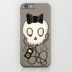 Girly Skull with Black Bow / Die for Music Slim Case iPhone 6s
