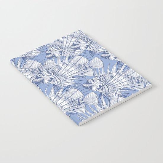 fish mirage blue Notebook