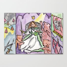 Woman King Canvas Print