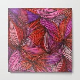 brightly blooming squared Metal Print