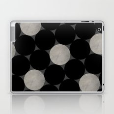 Black Polka Laptop & iPad Skin