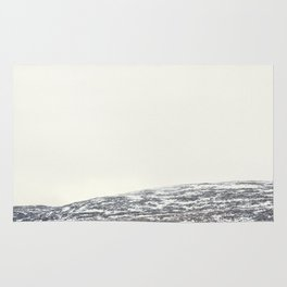 Let it snow in the mountains Rug