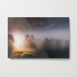 Cleansing Metal Print