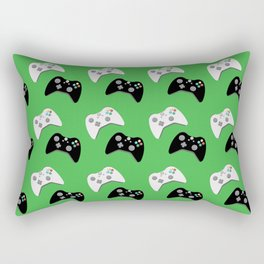 Video Game Controllers Rectangular Pillow
