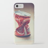 coke iPhone & iPod Cases featuring Coke by Ntaly
