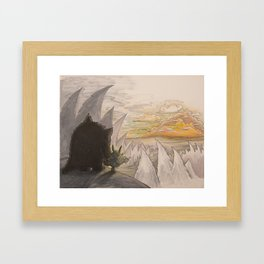 The Beast - 07 Framed Art Print