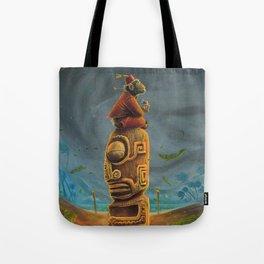 Koshi Greets The Storm Tote Bag