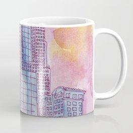5th Avenue Place Sunset Coffee Mug