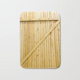 new wooden gates Bath Mat
