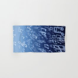Aquatic Chords Hand & Bath Towel