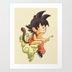 Pooku Art Print