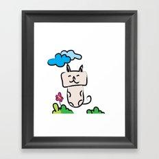 Kittie Cat Framed Art Print
