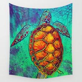 Swim in Eternal Seas Wall Tapestry