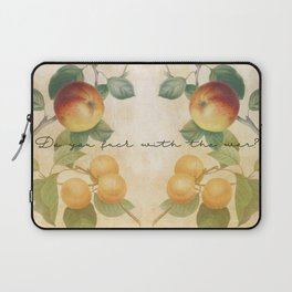 Apples to Oranges Laptop Sleeve