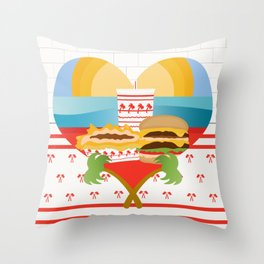 Animal Style Throw Pillow