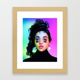 Prismatic Tahliah Framed Art Print