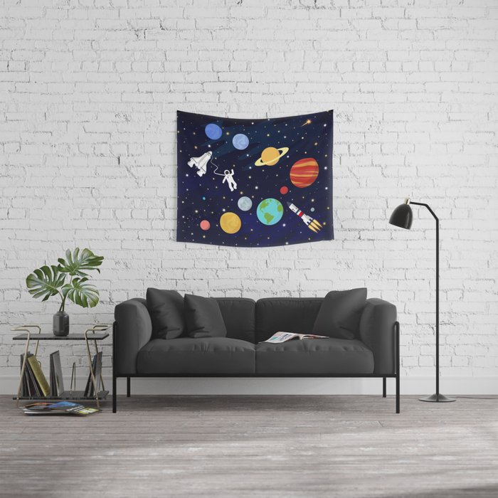 In space Wall Tapestry