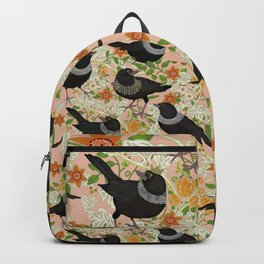 Ruth Bader GinsBIRD pink Backpack