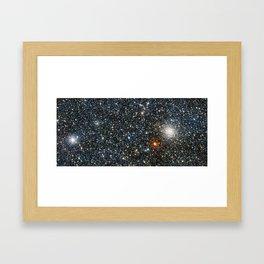 Globular cluster Framed Art Print