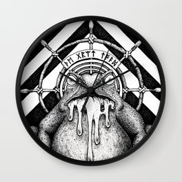 The Great Toad Wall Clock