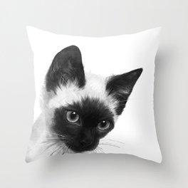 siamese Throw Pillow
