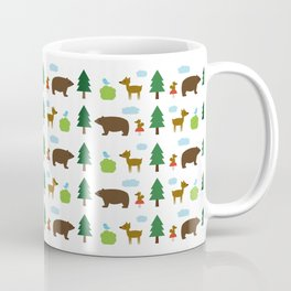 The Essential Patterns of Childhood - Forest Coffee Mug