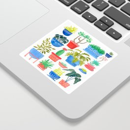 House Plants Sticker