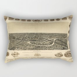 Dallas 1892 Rectangular Pillow