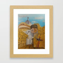 The Church of the Holy Sepulchre Framed Art Print