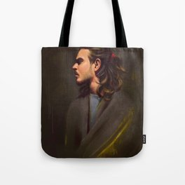 Draped Dignity Tote Bag